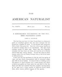 The American Naturalist : 1902 Vol. 36 N... Volume Vol. 36 by McPeek, Mark, A.