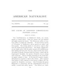 The American Naturalist : 1903 Vol. 37 N... Volume Vol. 37 by McPeek, Mark, A.