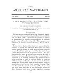 The American Naturalist : 1908 Vol. 42 N... Volume Vol. 42 by McPeek, Mark, A.