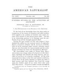 The American Naturalist : 1908 Vol. 42 N... Volume Vol. 42 by McPeek, Mark, A.