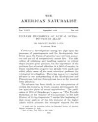 The American Naturalist : 1910 Vol. 44 N... Volume Vol. 44 by McPeek, Mark, A.