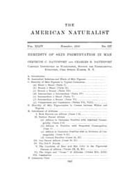 The American Naturalist : 1910 Vol. 44 N... Volume Vol. 44 by McPeek, Mark, A.