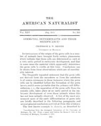 The American Naturalist : 1911 Vol. 45 N... Volume Vol. 45 by McPeek, Mark, A.