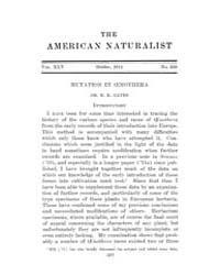 The American Naturalist : 1911 Vol. 45 N... Volume Vol. 45 by McPeek, Mark, A.