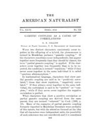 The American Naturalist : 1912 Vol. 46 N... Volume Vol. 46 by McPeek, Mark, A.