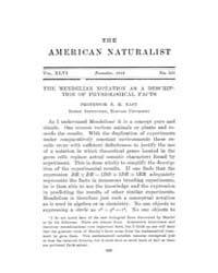 The American Naturalist : 1912 Vol. 46 N... Volume Vol. 46 by McPeek, Mark, A.