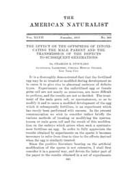 The American Naturalist : 1913 Vol. 47 N... Volume Vol. 47 by McPeek, Mark, A.