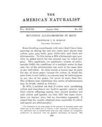 The American Naturalist : 1914 Vol. 48 N... Volume Vol. 48 by McPeek, Mark, A.