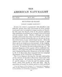 The American Naturalist : 1915 Vol. 49 N... Volume Vol. 49 by McPeek, Mark, A.