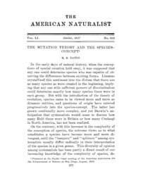 The American Naturalist : 1917 Vol. 51 N... Volume Vol. 51 by McPeek, Mark, A.