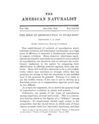 The American Naturalist : 1918 Vol. 52 N... Volume Vol. 52 by McPeek, Mark, A.