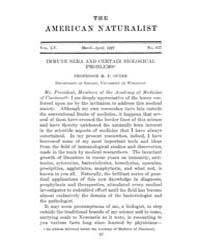 The American Naturalist : 1921 Vol. 55 N... Volume Vol. 55 by McPeek, Mark, A.