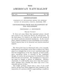 The American Naturalist : 1922 Vol. 56 N... Volume Vol. 56 by McPeek, Mark, A.