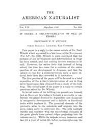 The American Naturalist : 1922 Vol. 56 N... Volume Vol. 56 by McPeek, Mark, A.