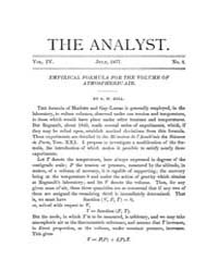 The Analyst : 1877 Vol. 4 No. 4 Jul Volume Vol. 4 by