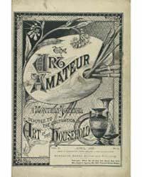 The Art Amateur : 1880 Apr. No. 5 Vol. 2 Volume Vol. 2 by Marks, Montague