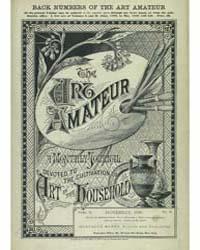 The Art Amateur : 1880 Nov. No. 6 Vol. 3 Volume Vol. 3 by Marks, Montague