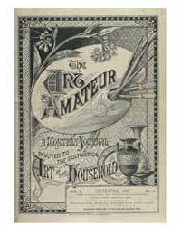 The Art Amateur : 1880 Sep. No. 4 Vol. 3 Volume Vol. 3 by Marks, Montague