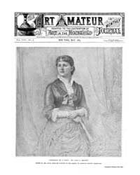 The Art Amateur : 1883 May No. 6 Vol. 8 Volume Vol. 8 by Marks, Montague