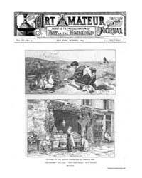The Art Amateur : 1883 Oct. No. 5 Vol. 9 Volume Vol. 9 by Marks, Montague