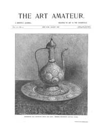The Art Amateur : 1887 Aug. No. 3 Vol. 1... Volume Vol. 17 by Marks, Montague
