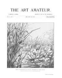 The Art Amateur : 1887 Jul. No. 2 Vol. 1... Volume Vol. 17 by Marks, Montague