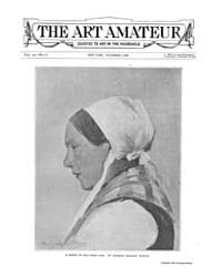 The Art Amateur : 1888 Nov. No. 6 Vol. 1... Volume Vol. 19 by Marks, Montague