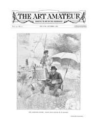 The Art Amateur : 1888 Sep. No. 4 Vol. 1... Volume Vol. 19 by Marks, Montague