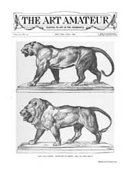 The Art Amateur : 1889 Apr. No. 5 Vol. 2... Volume Vol. 20 by Marks, Montague