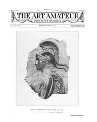 The Art Amateur : 1890 Jan. No. 2 Vol. 2... Volume Vol. 22 by Marks, Montague