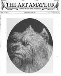 The Art Amateur : 1890 Jun. No. 1 Vol. 2... Volume Vol. 23 by Marks, Montague