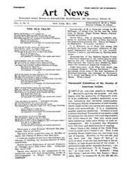 The Art News : 1897 May No. 3 Vol. 1 Volume Vol. 1 by