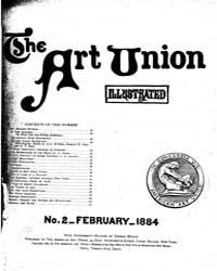 The Art Union : 1884 Feb. No. 2 Vol. 1 Volume Vol. 1 by