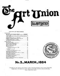 The Art Union : 1884 Mar. No. 3 Vol. 1 Volume Vol. 1 by
