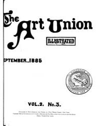 The Art Union : 1885 Sep. No. 3 Vol. 2 Volume Vol. 2 by