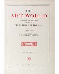 The Art World : 1917 Apr. No. 1 Vol. 2 Volume Vol. 2 by Boardman, John