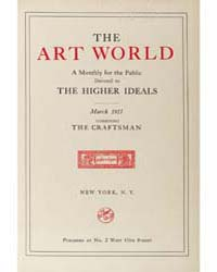 The Art World : 1917 Mar. No. 6 Vol. 1 Volume Vol. 1 by Boardman, John