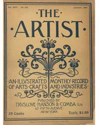 The Artist an Illustrated Monthly Record... Volume Vol. 25 by Jackson, Charles, Kains