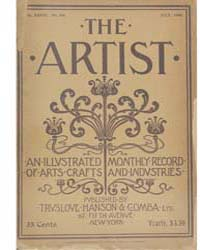 The Artist an Illustrated Monthly Record... Volume Vol. 28 by Jackson, Charles, Kains