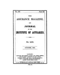 The Assurance Magazine and Journal of th... Volume Vol. 11 by