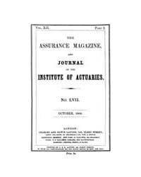 The Assurance Magazine and Journal of th... Volume Vol. 12 by