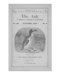 The Auk : 1892 Oct. No. 4 Vol. 9 Volume Vol. 9 by Murphy, Michael
