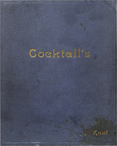 Cocktails by Koki, F.
