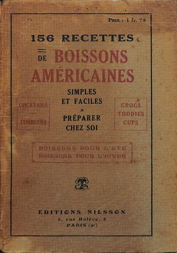 156 Recettes De Boissons Américaines by Larsen, Niels