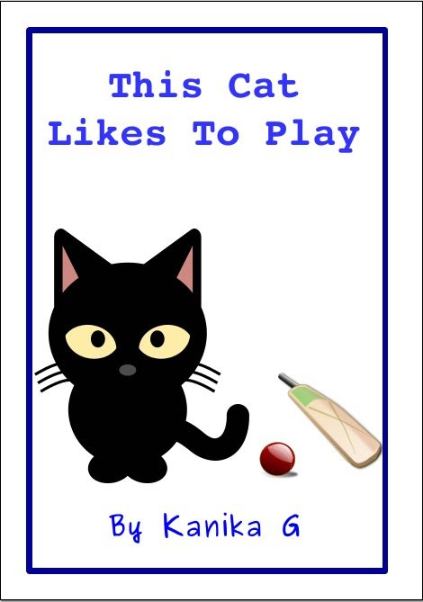 This Cat Likes to Play by G, Kanika