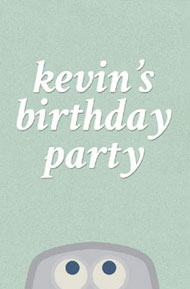 Kevin's Birthday Party by