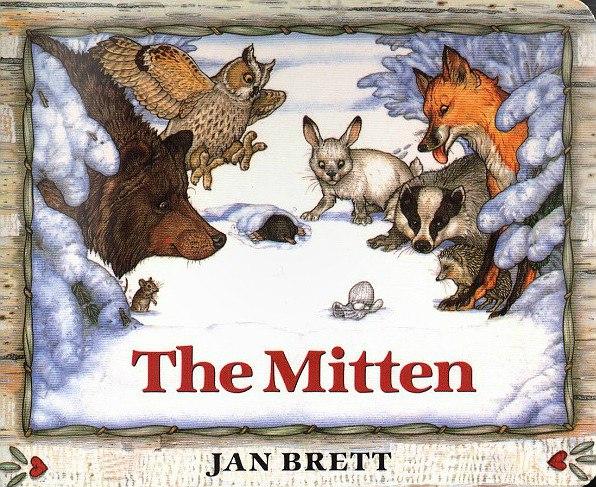 The Mitten by Brett, Jan