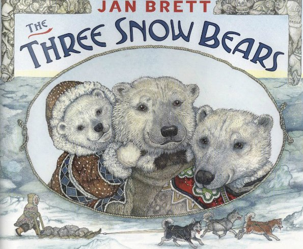 The Three Snow Bears by Brett, Jan