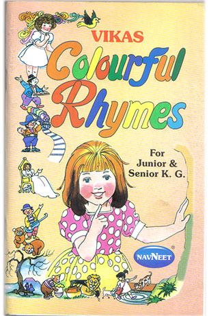 Vikas Colorful Rhymes by Aranha, M.