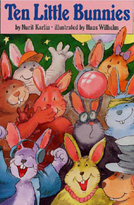 Ten Little Bunnies by Karlin, Nurit